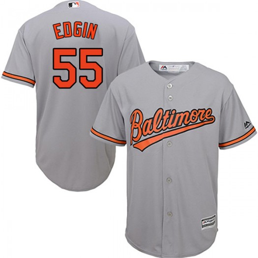 Youth Majestic Josh Edgin Baltimore Orioles Authentic Grey Cool Base Road Jersey